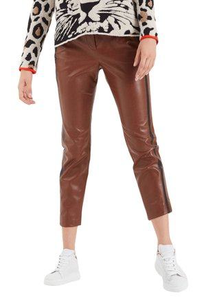 MARC CAIN DAMEN HOSE - Trousers - brown