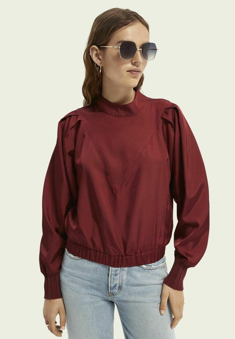 Scotch & Soda - Sweatshirt - ruby red