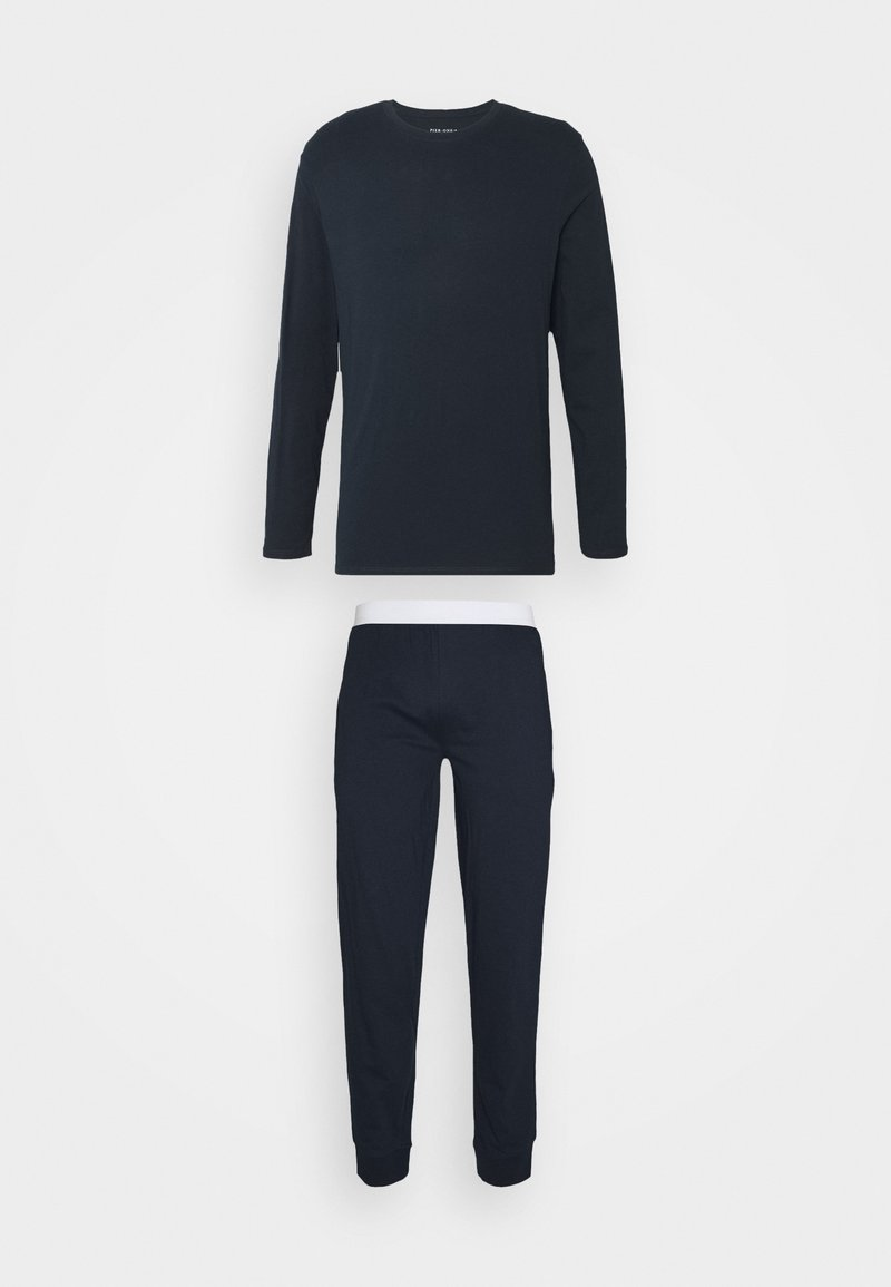 Pier One - SET - Pyjamas - dark blue
