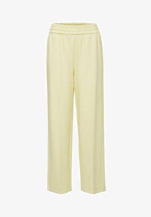 Pantalon classique - pastel yellow