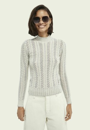 SCOTCH & SODA KNITTED SLIM FIT SWEATER - Jumper - combo s