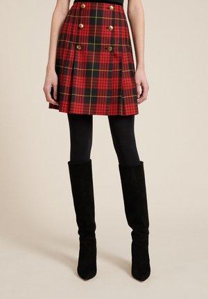 Wrap skirt - var rosso/nero