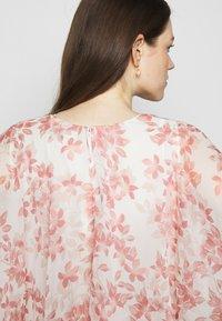 Lauren Ralph Lauren - PRINTED CRINKLE LONG - Occasion wear - colonial cream/pink - 7