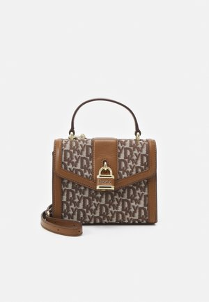 ELLA CBODY LOGO - Handbag - coffe/natural