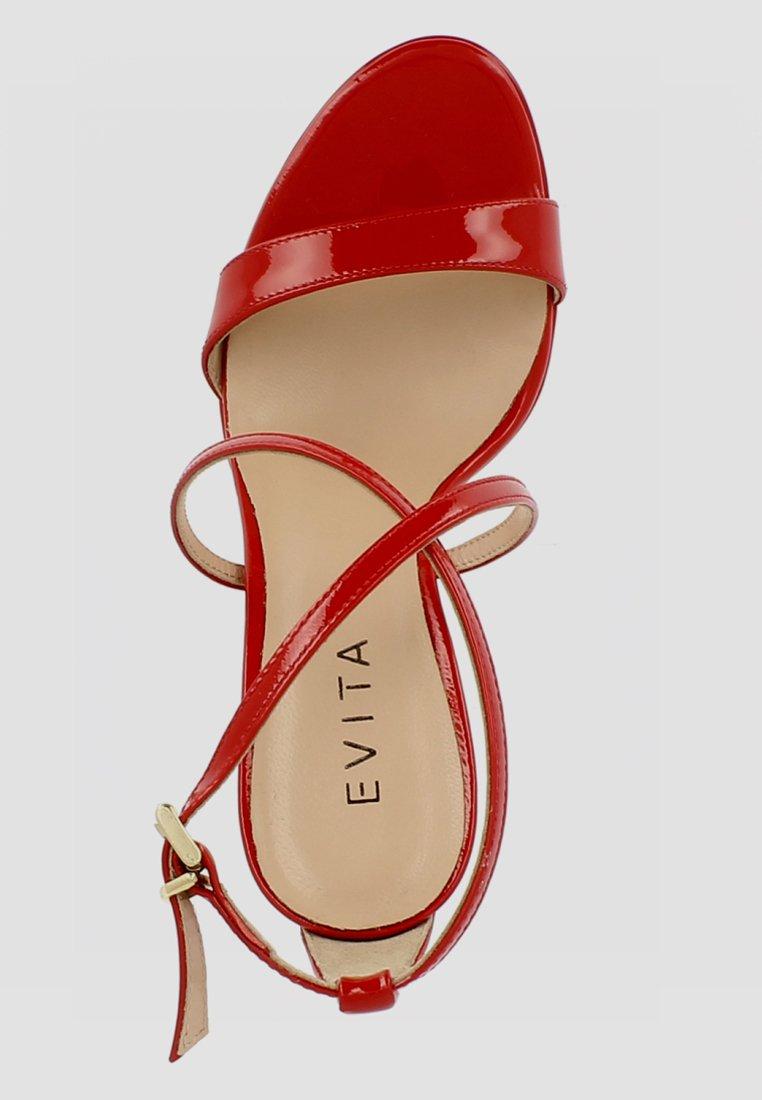 Evita VALERIA - Sandalen met hoge hak - red - Damesschoenen Hot Koop