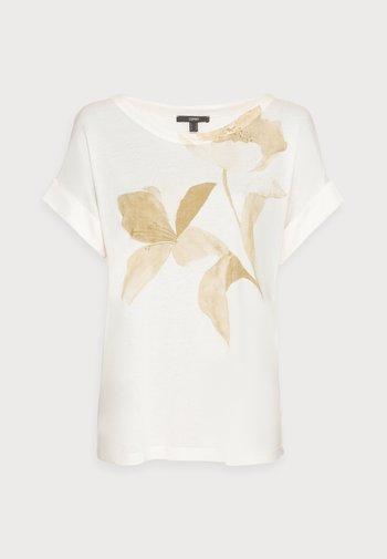 FLOWER - Print T-shirt - off white