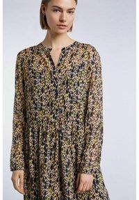SET - Shirt dress - apricot black - 3