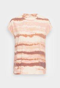 MOCK-NECK BLOUSE - Blouse - multi-coloured