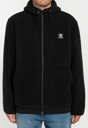 Zip-up hoodie - flint black
