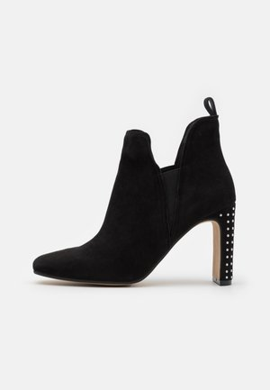 HAYLEY - High heeled ankle boots - black