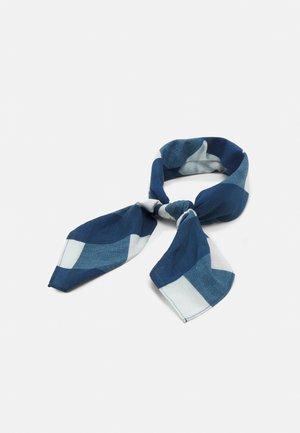 BANDANA UNISEX - Halsdoek - white/blue