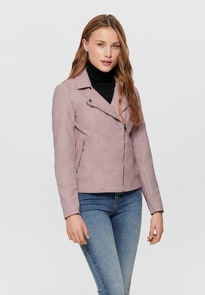 ONLMELANIE  - Faux leather jacket - keepsake lilac