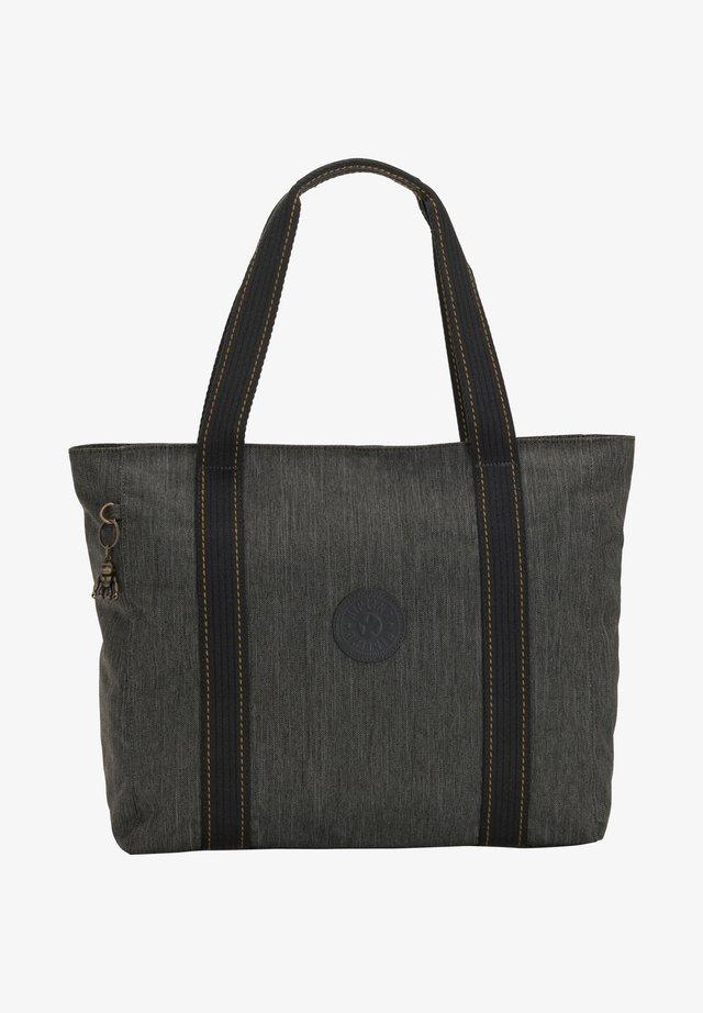Tote bag - black indigo