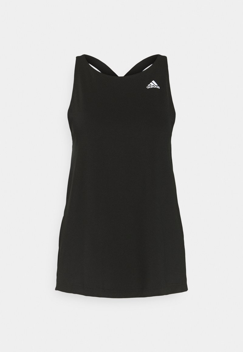 adidas Performance - AEROREADY PRIMEGREEN TRAINING SPORTS TANK - Treningsskjorter - black/white
