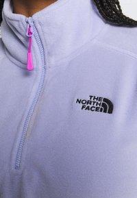The North Face - GLACIER CROPPED ZIP - Fleece jumper - sweet lavender - 5
