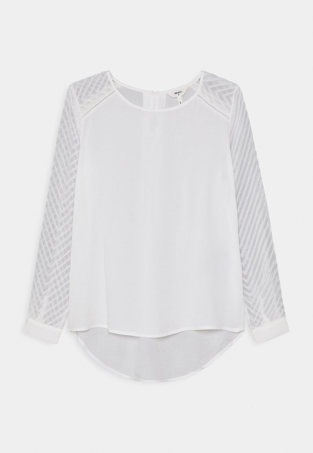 OBJZOE TOP PETIT - Blusa - white