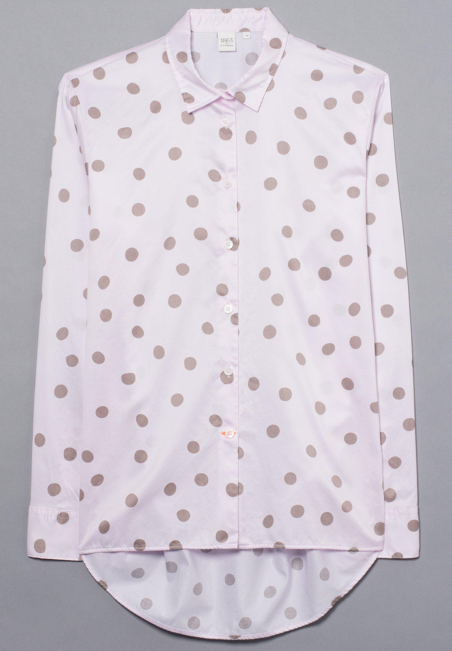 Eterna Overhemdblouse - rosé/grau - Dameskleding Uniseks