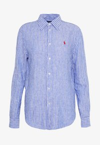 Polo Ralph Lauren - RELAXED LONG SLEEVE - Košile - royal/white - 3