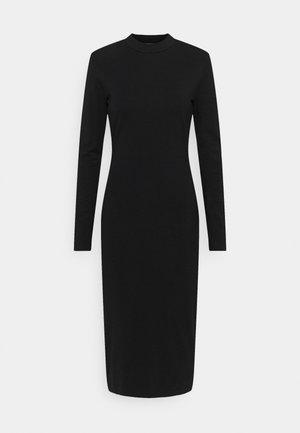 BEGONIA CUTOUT BACK DRESS - Sukienka z dżerseju - black