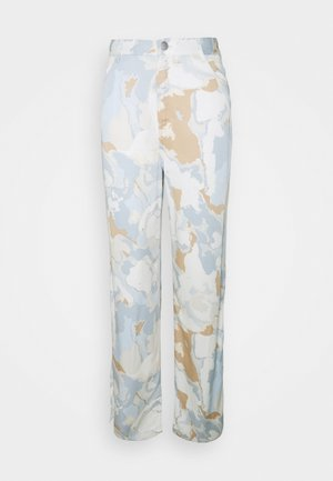 ANGELICA TROUSERS - Trousers - ice blue
