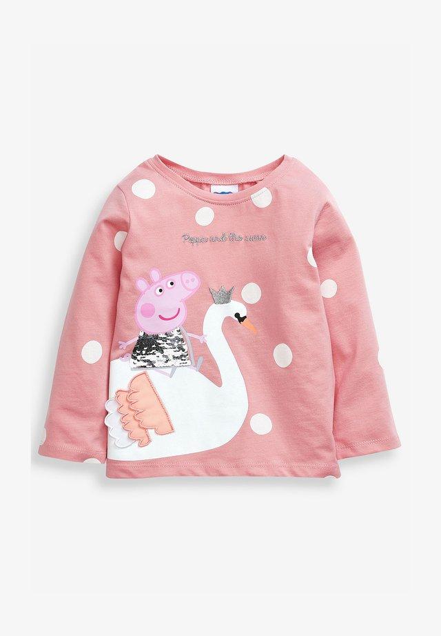 PEPPA PIG SWAN - Long sleeved top - pink