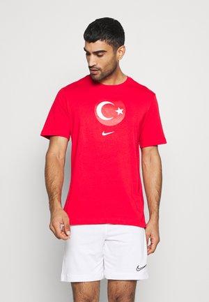 TÜRKEI TEE EVERGREEN CREST - T-shirt print - university red
