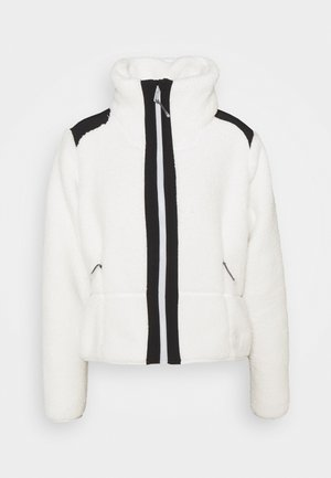 LEGACY - Fleece jacket - onyx white