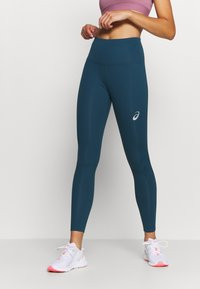 ASICS - HIGH WAIST - Leggings - magnetic blue - 0