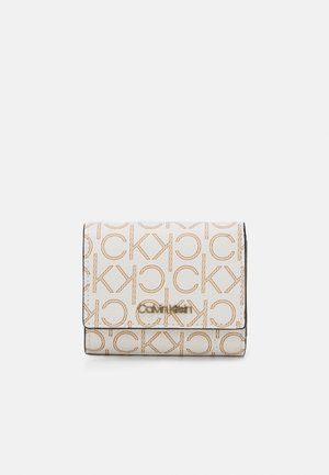 TRIFOLD XS MONOGRAM - Wallet - white