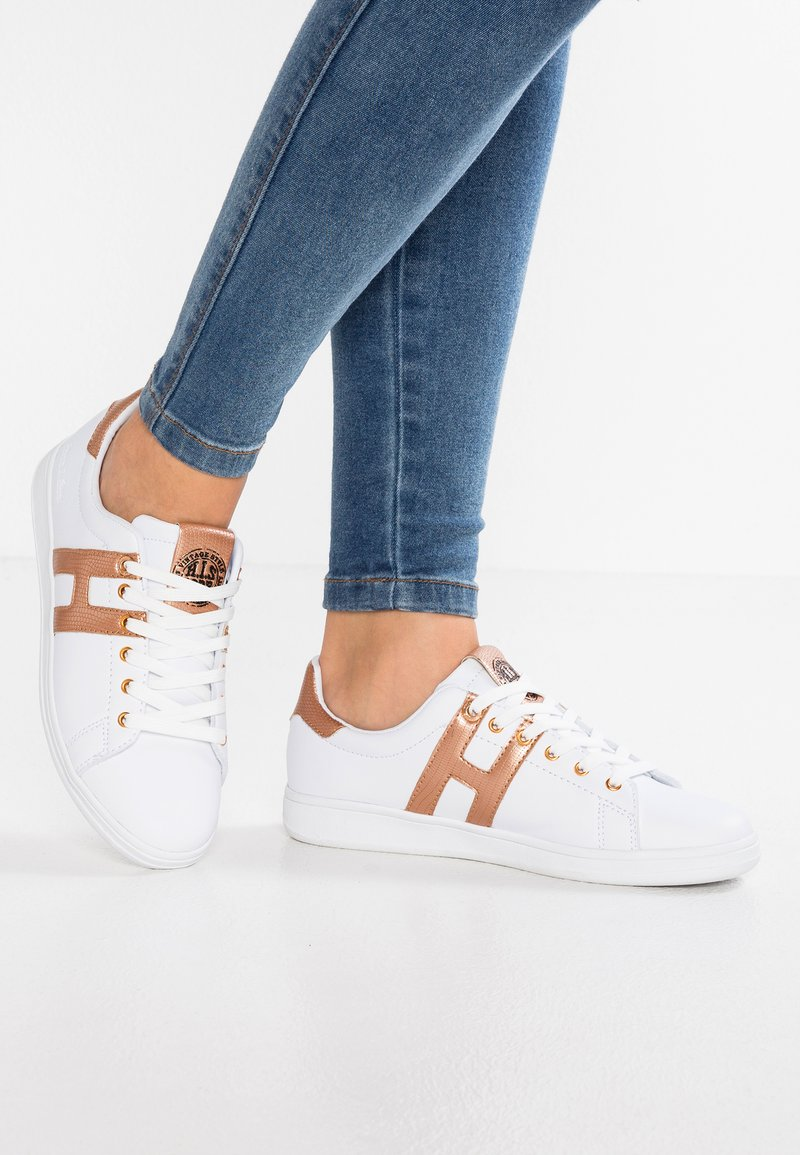 H.I.S - Trainers - white/rosegold