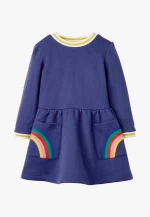 Day dress - segelblau, regenbogen