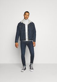 Lee - SHERPA  - Jas - dark blue denim - 1
