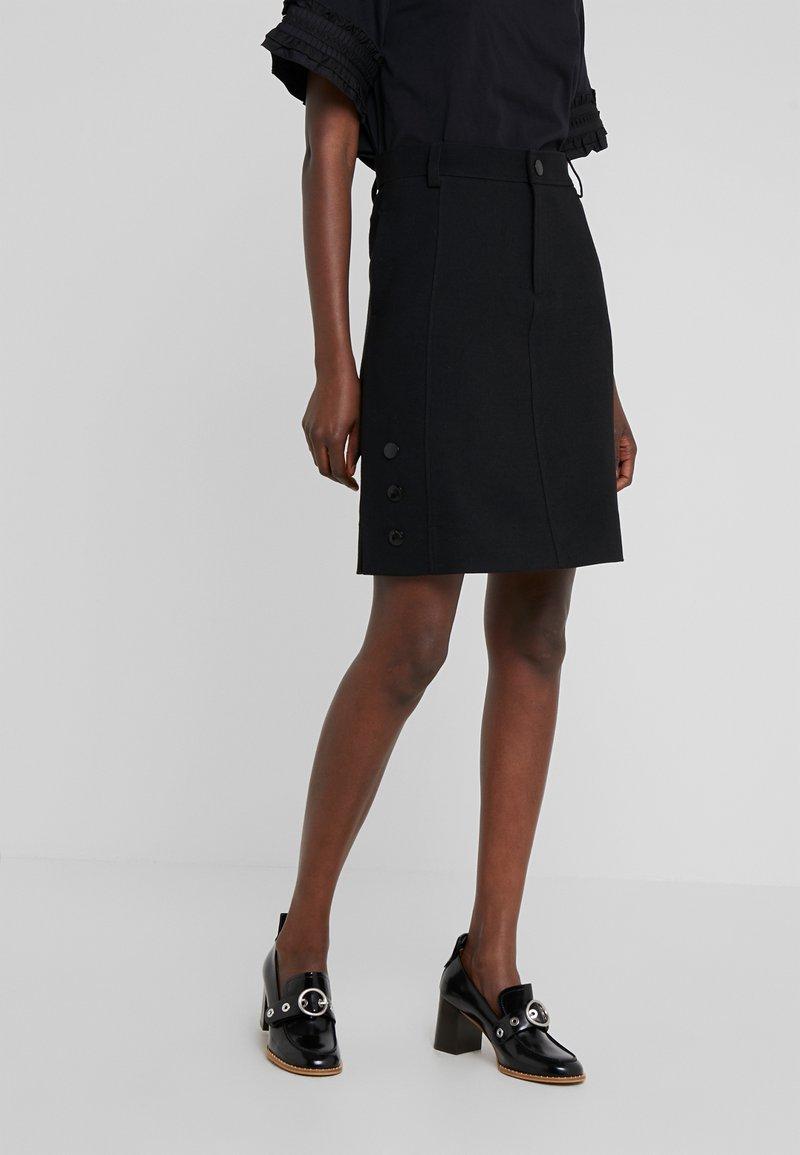 See by Chloé - Áčková sukně - black
