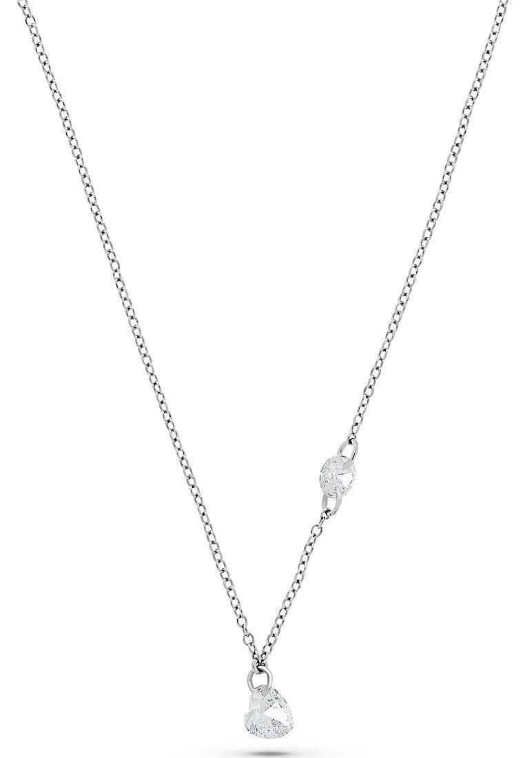 QOOQI - MY VALENTINE  - Necklace - silber