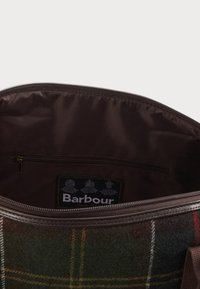 Barbour - ELGIN HOLDALL - Tote bag - multi-coloured/green - 3
