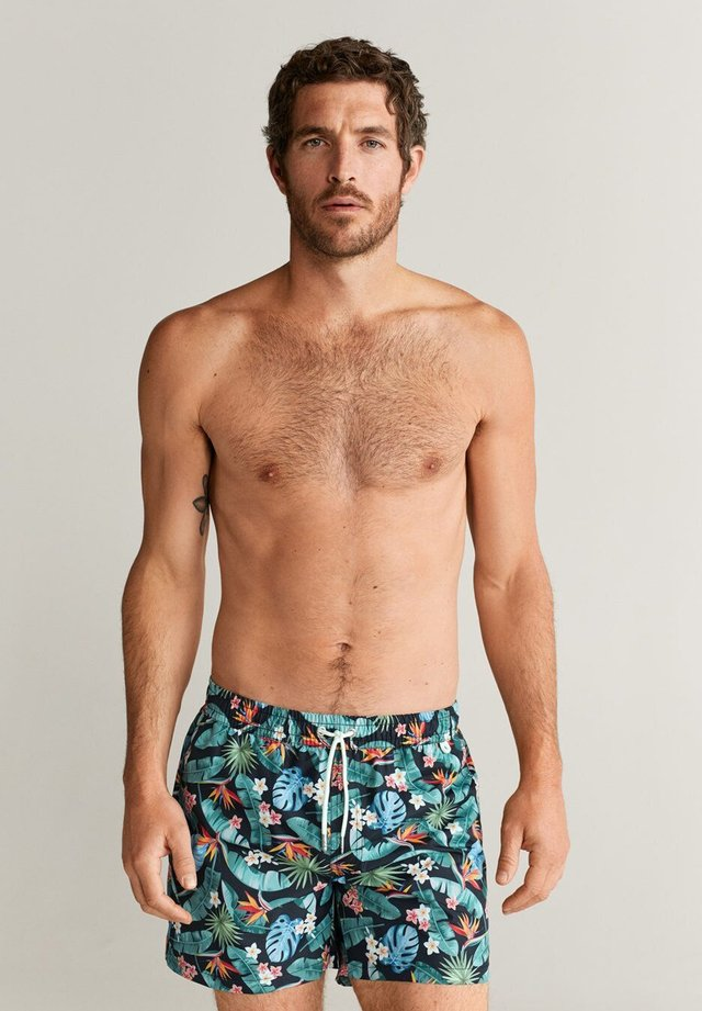 TROPICAL - Short de bain - schwarz
