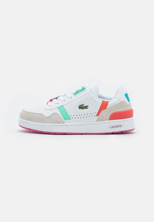 T-CLIP - Baskets basses - white/pink