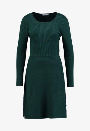 Jumper dress - bottle green
