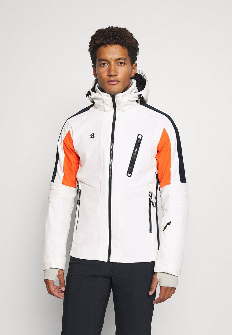 8848 Altitude - LOIS JACKET - Lyžařská bunda - blanc