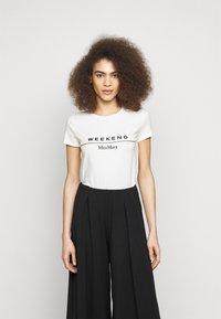 WEEKEND MaxMara - SELVA - Print T-shirt - weiss - 0