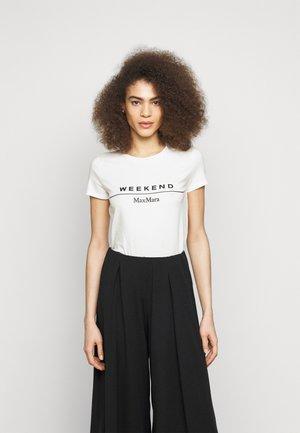 SELVA - Print T-shirt - weiss