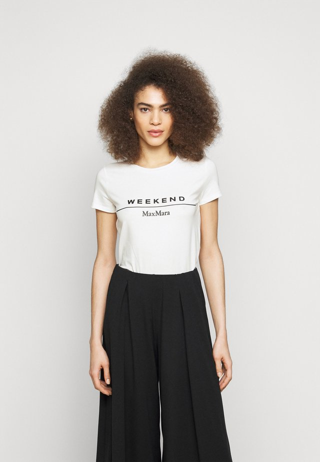 SELVA - T-shirt con stampa - weiss