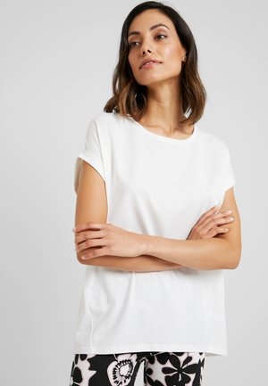 Pyjama top - white pebble