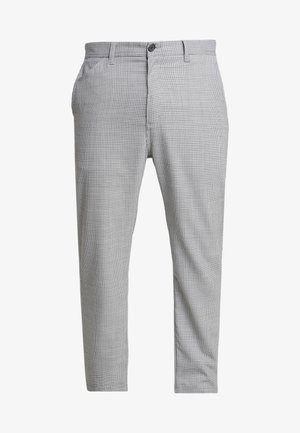 MENSON PANT MONTEBELLO - Trousers - lewis/black rigid
