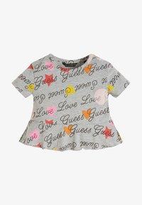 Guess - Print T-shirt - grey - 0