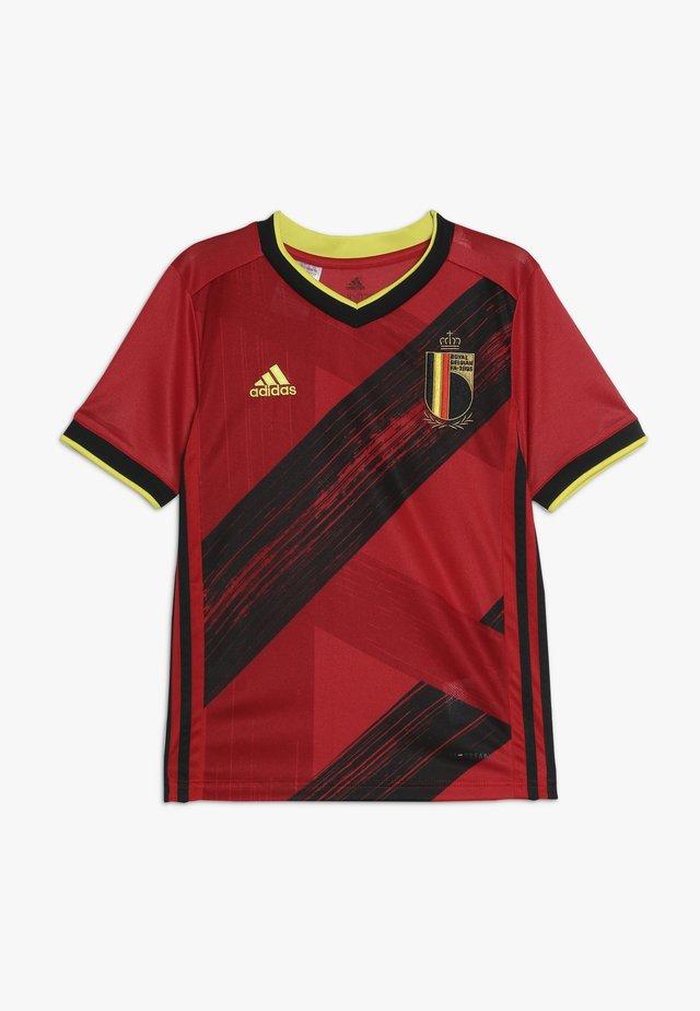 BELGIUM RBFA HOME JERSEY - Voetbalshirt - Land - collegiate red