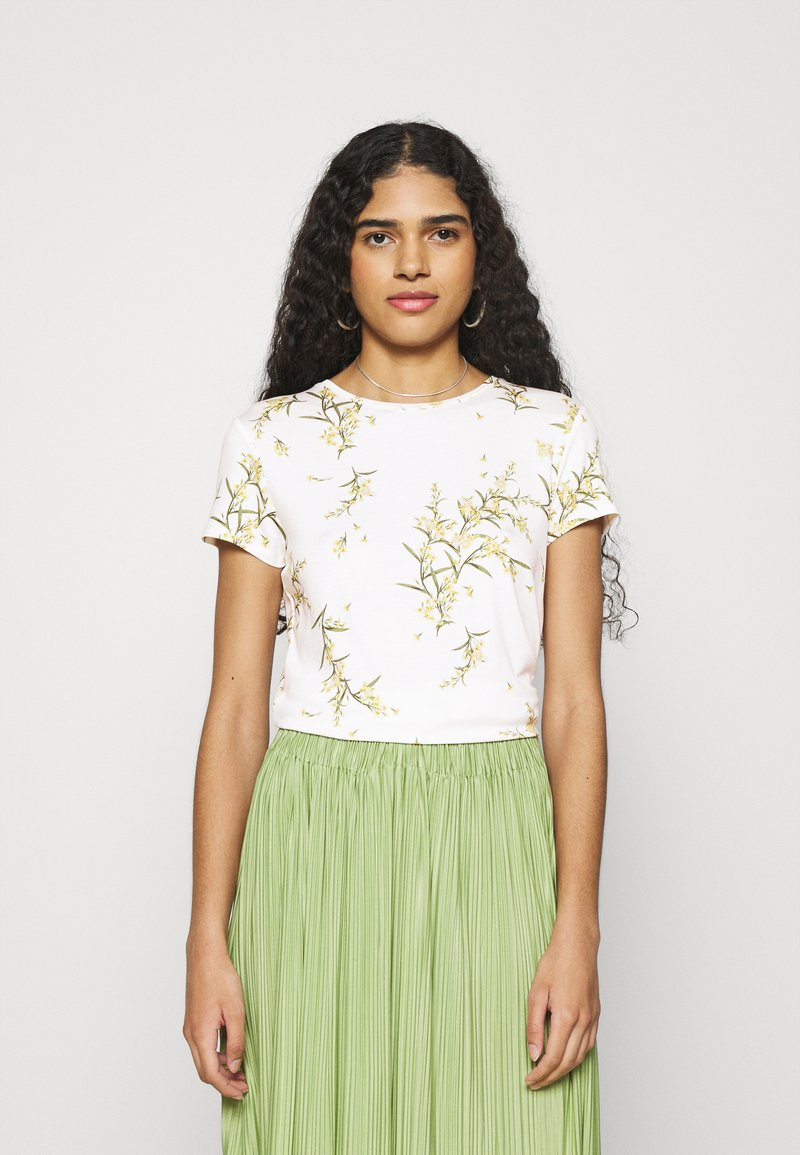 Ted Baker - IRENNEE - Print T-shirt - white