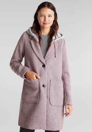 MEL - Classic coat - pink