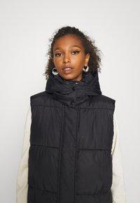 ONLY - ONLDEMY PADDED VEST - Waistcoat - black - 6