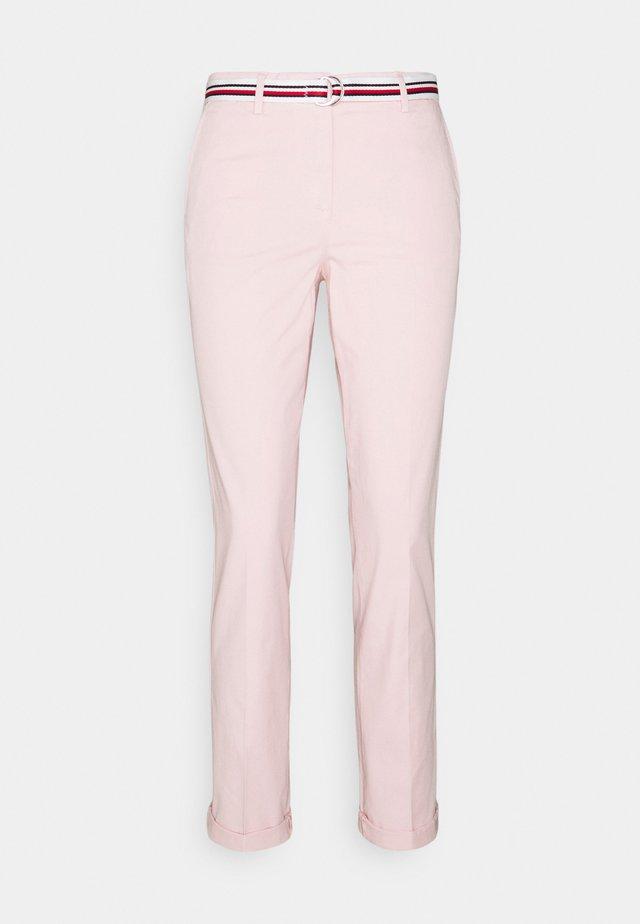CHINO SLIM PANT - Chino - light pink